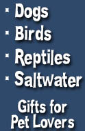 Dog, Bird, and Reptile Gifts